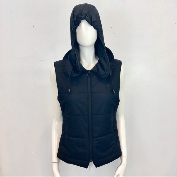 Lacoste Jackets & Blazers - LACOSTE Devanlay Puffer Vest with Optional Hood